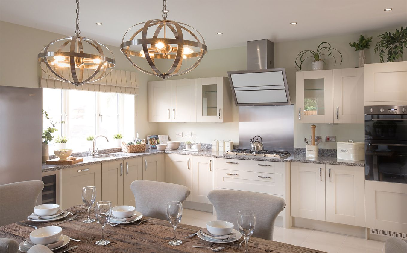 Cotswold Homes showroom kitchen