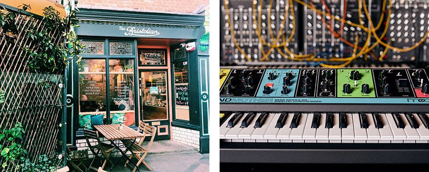 The Bristolian and Moog Grandmother synth