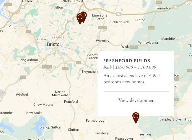 Cotswold Homes development map