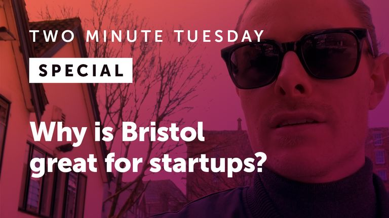 Bristol is great for startups