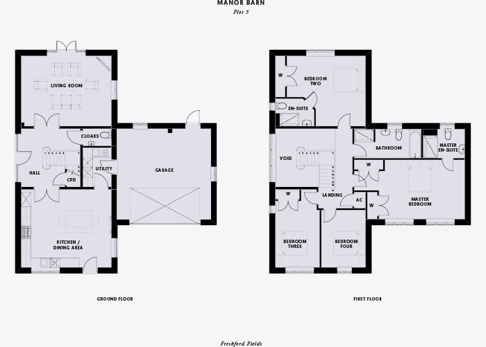 Cotswold Homes floor plan design