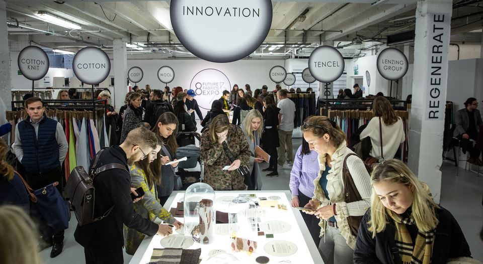 Future Fabrics Expo visitors